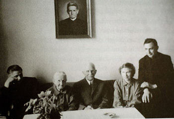 Pope Benedict XVI Family Portrait
